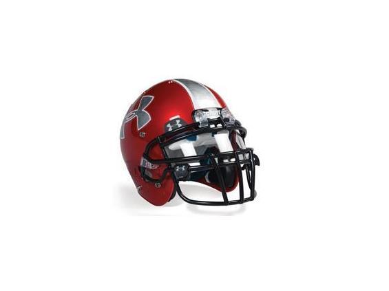 Очки under armour football visor-gray with mirror