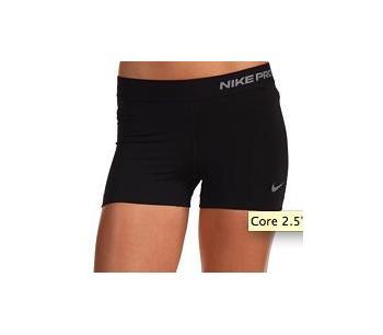 Nike Pro Compression Shorts Womens