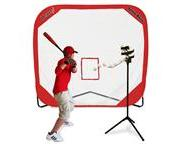 Heater Big League Drop Toss & Spring Away Pop-Up Net