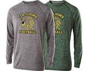 Jr. Lions Football L/S Performance Shirt