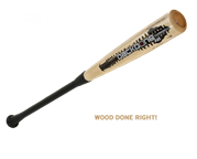 Combat Backbone Wood Adult Baseball Bat
