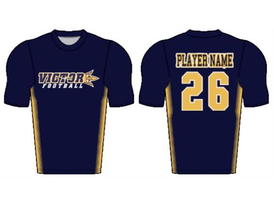 Custom Sublimated MID-SLEEVE Compression Shirt