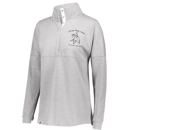 Womens Button Pullover