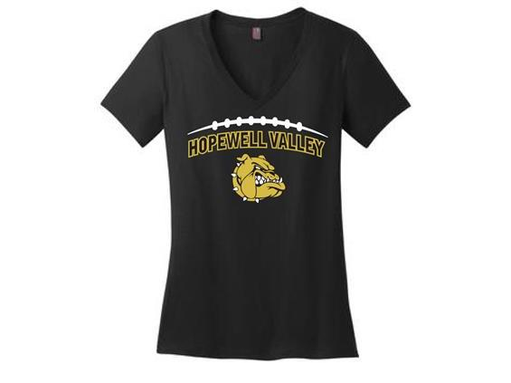 HV Football Ladies V-Neck