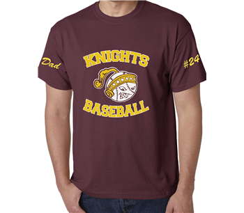 Knights MOM or DAD T-Shirt !!
