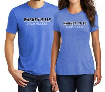 WH Field Hockey Tri-blend Shirt