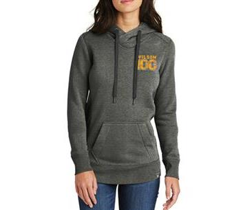 Warriors Football Ladies Hoodie