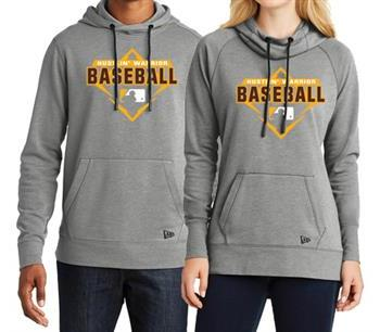 Warrior Baseball New Era Tri-Blend Hoodie