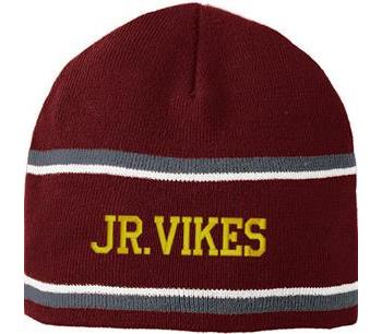 Jr. Vikes Football Knit Cap