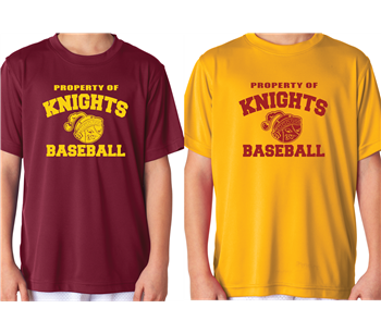 Knights Dri Fit Practice Shirts - Two Shirt Combo