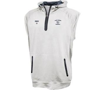 Sleeveless 1/4 Zip with Hood