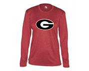 Women's L/S Red Heather