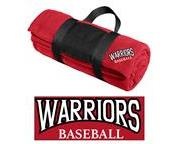 SP Warriors Fleece Blanket