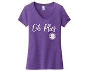 Oh Plies - Adult - V Neck
