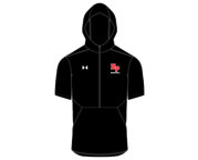 Under Armour Mens Hooded Short Sleeve Cage Jacket
