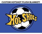 Hot Shots Plush Blanket
