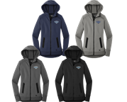 New Era Ladies Flleece Full-Zip