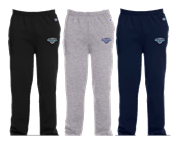 Champion Double Dry Eco Open-Bottom Fleece Pant