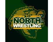 North Wrestling Pin Club Sublimated Plush Blanket