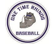 The One Time Rhinos Car Magnet