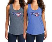 BLAZE Softball Ladies Racerback Tank
