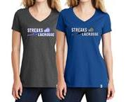 WTYA Jr LAX Ladies V-Neck Shirt