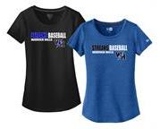 Streaks Baseball Ladies S/S Tee