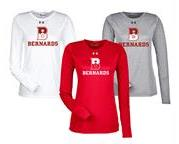 Bernards HS LADIES UA L/S Tee