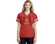 Can't Keep Calm Football Mom Jersey