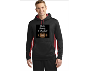 FAITH FAMILY FOOTBALL HOODIE