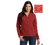 LADIES CUT FULL ZIP FLEECE