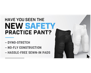 PRACTICE PANTS WITH BUILT IN PADS