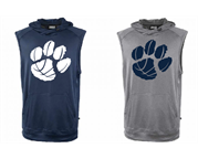 Sleeveless Crossover Hoody