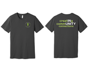 Chamber Tee - Left Chest Logo w/ Creating Community Connections back