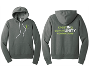 Chamber Hoodie - Left Chest logo w/ Creating Community Connections back