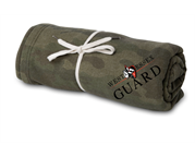 Independent Trading Company Camo Blanket (Embroidered)