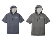 New Era short Sleeve Hoodie (Embroidered Logo)