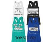 Personalized Ladies' Bella+Canvas Tank (Any Color & Logo w/ Custom Message!!)