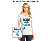 Langtree Faculty Ladies V-Neck
