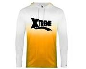 XTREME OMBRE LONG SLEEVE HOODED TEE